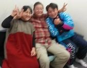 澤口先生とトミーさんと私(ぼけぼけ)