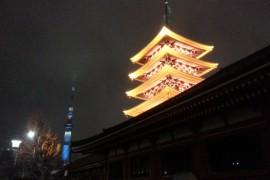 スカイツリーと浅草寺